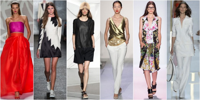 NYFW S/S 2014, NYFW trends, NYFW Spring 2014 trends, how to wear fashion week trends, how to wear NYFW, top NYFW trends, budget NYFW trends