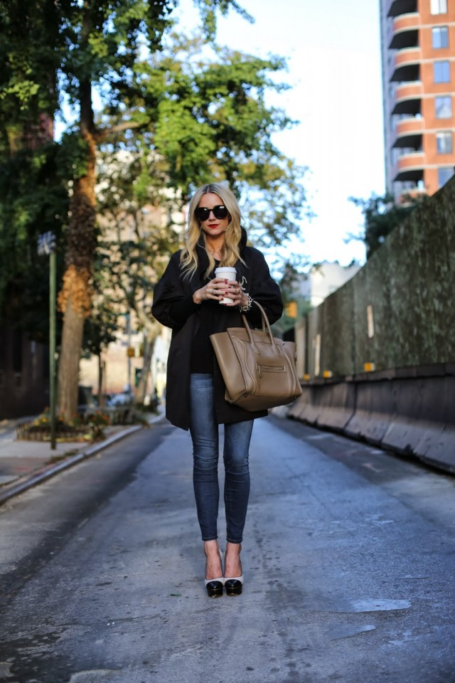 fall jacket style, blogger fall style, fall layers, winter layers, Blair Eadie, blogger style