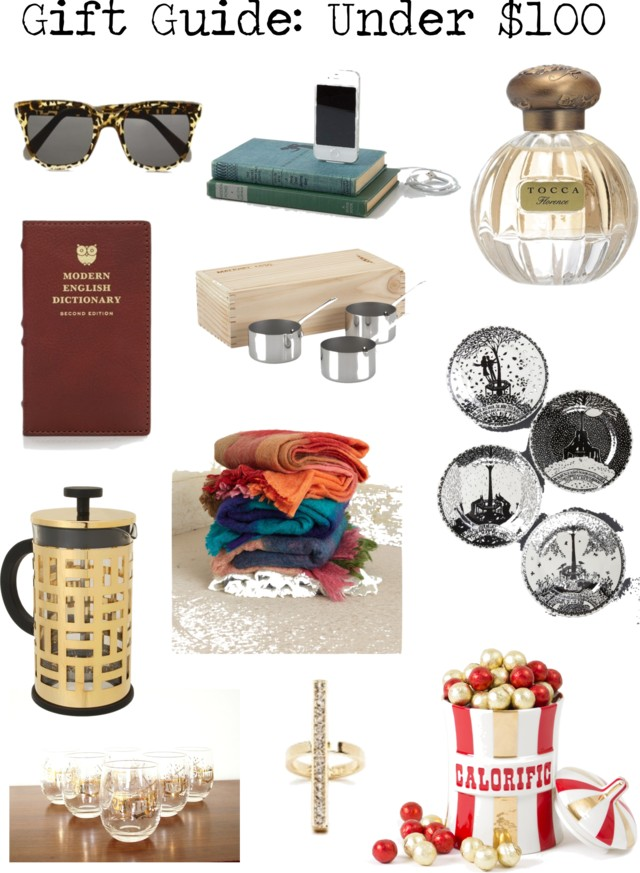 gift guide, gift guide for women, holiday gift guide, christmas gift guide, gifts under $100