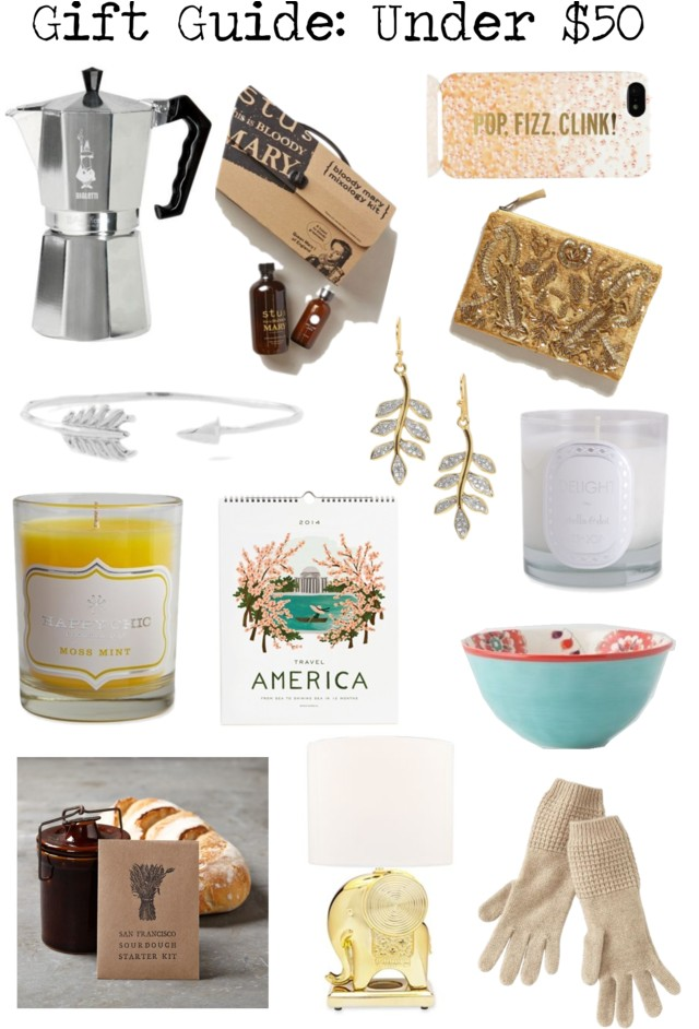 gift guide, gift guide for women, holiday gift guide, christmas gift guide, gifts under $50