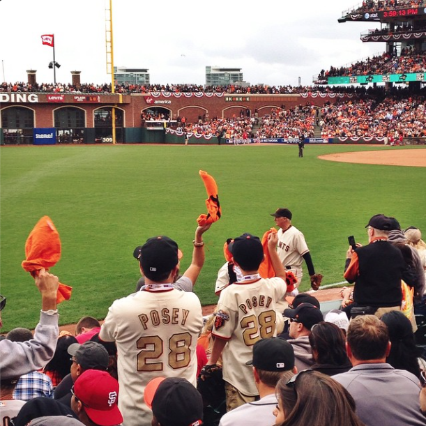 SF Giants, ATT Park, Go Giants